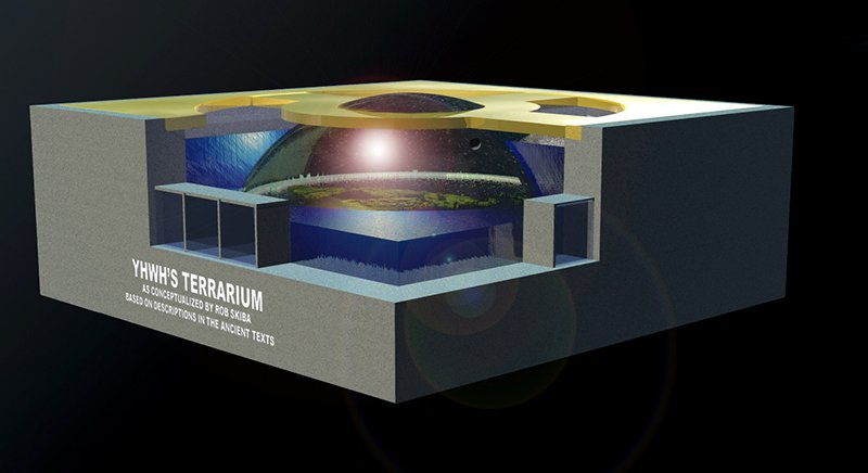 Flat Earth Terrarium