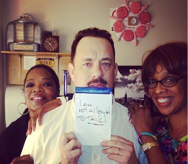 Is Tom Hanks in the Black Eye Club?