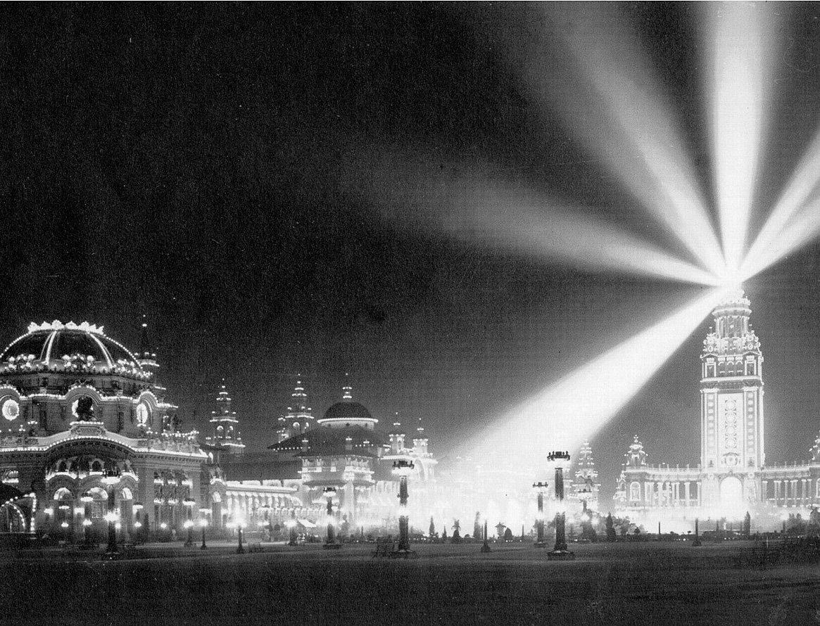 Pan-Am Exposition : apotheosis incandescent light Buffalo Pan ...