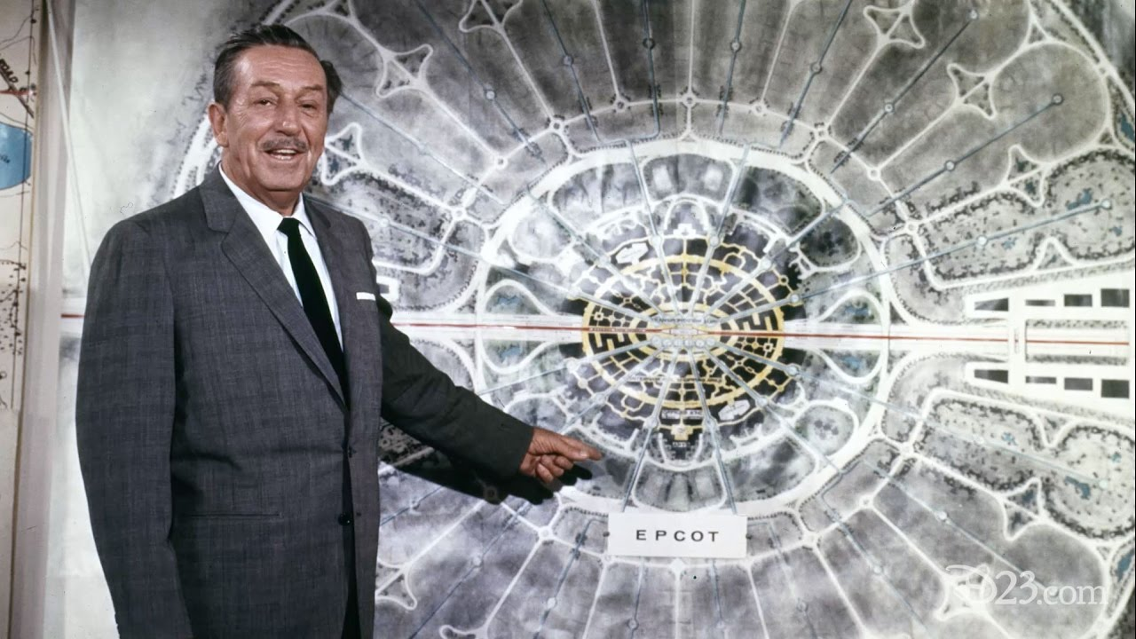 From the Office of Walt Disney: EPCOT – A Blueprint of the Future ...