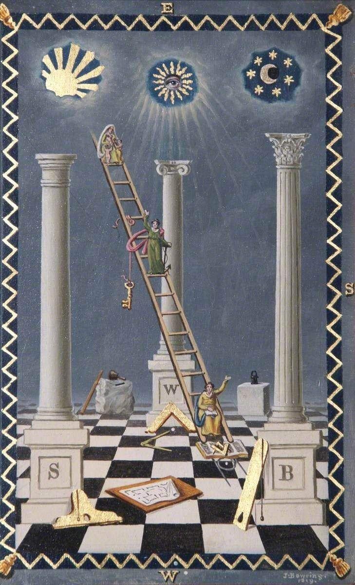 Three Great Pillars of Freemasonry: Wisdom, Strength, and Beauty