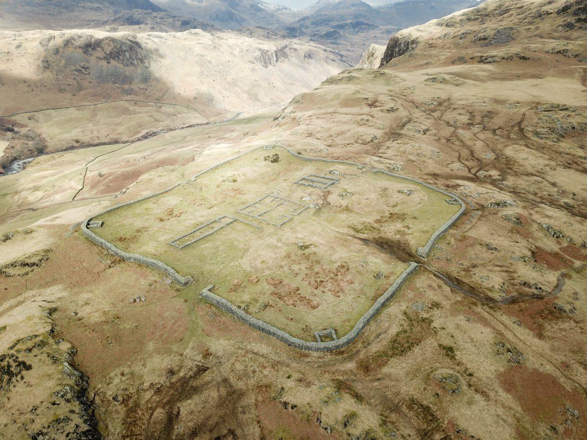 Hardknott Roman Fort – Mediobogdum - HeritageDaily - Archaeology News