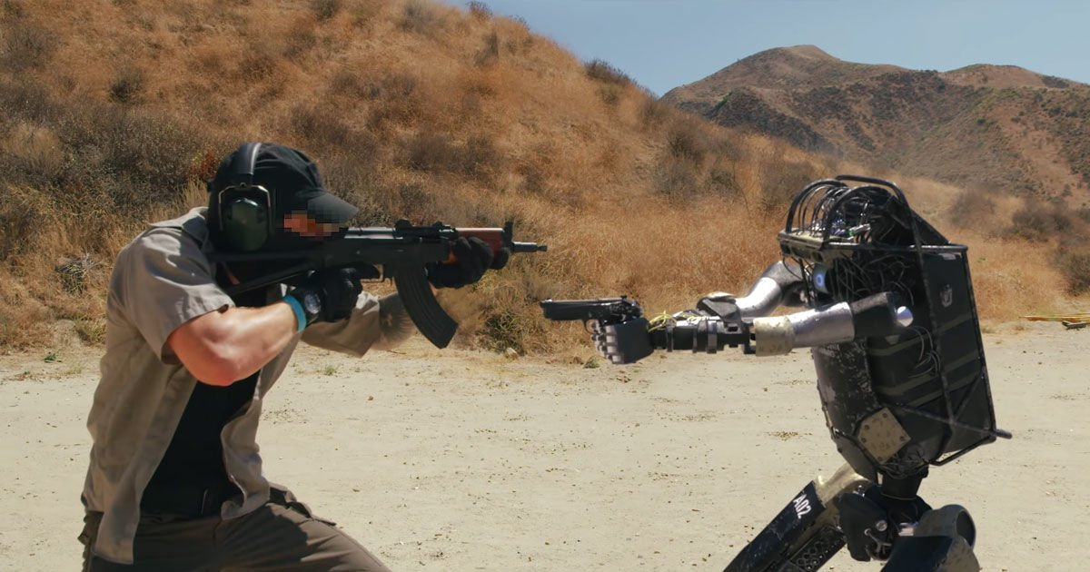 Boston Dynamics Parody Shows Robot Soldier Taking Revenge | Futurism
