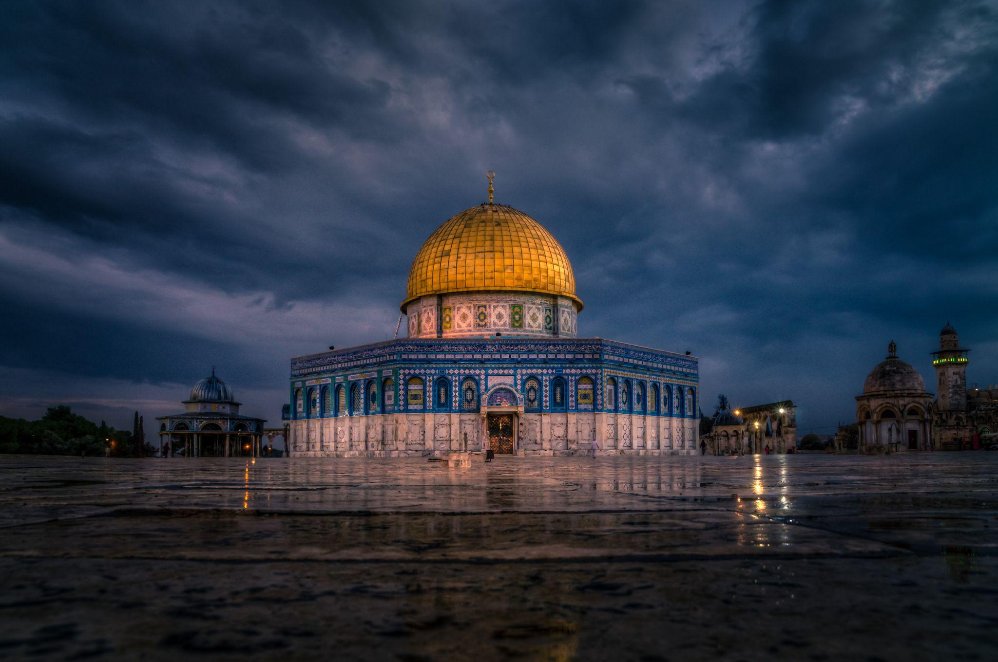 Dome of the Rock by Emir Terovic on 500px (Görüntüler ile) | Islam ...