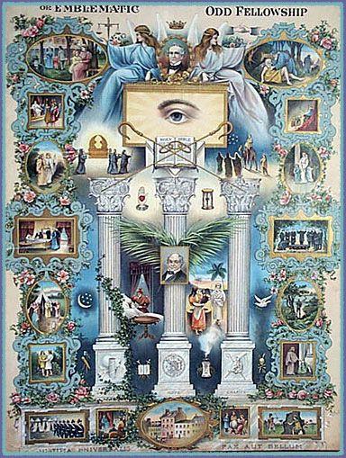 Odd Fellows symbolism   Masonic symbols