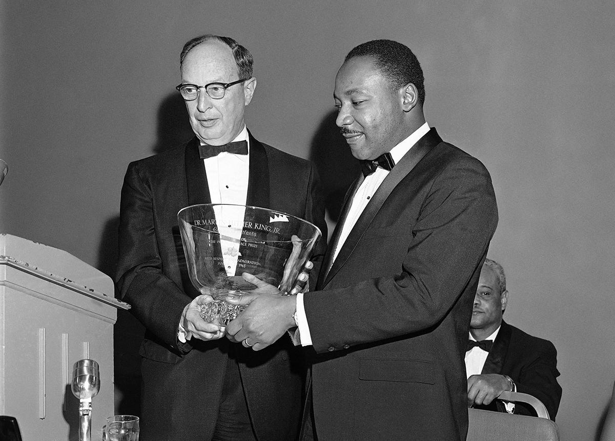 Looking Back At Martin Luther King Jr.'s Nobel Prize Dinner   WABE ...
