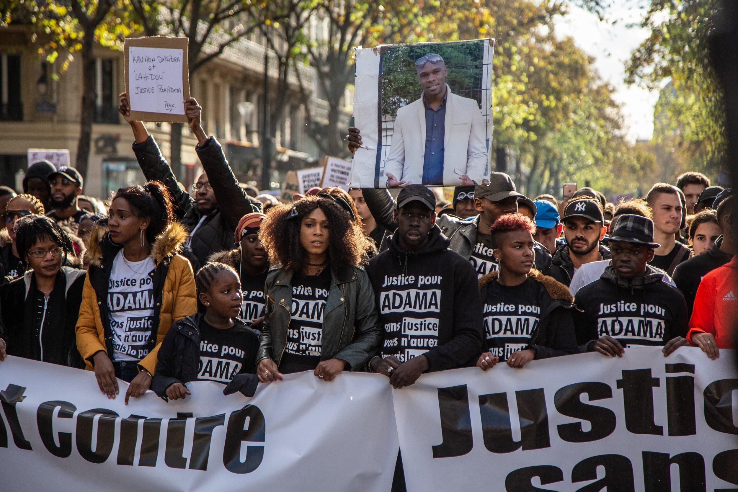 Paris Protests Erupt over Adama Traoré, Young Black Man Who Died ...