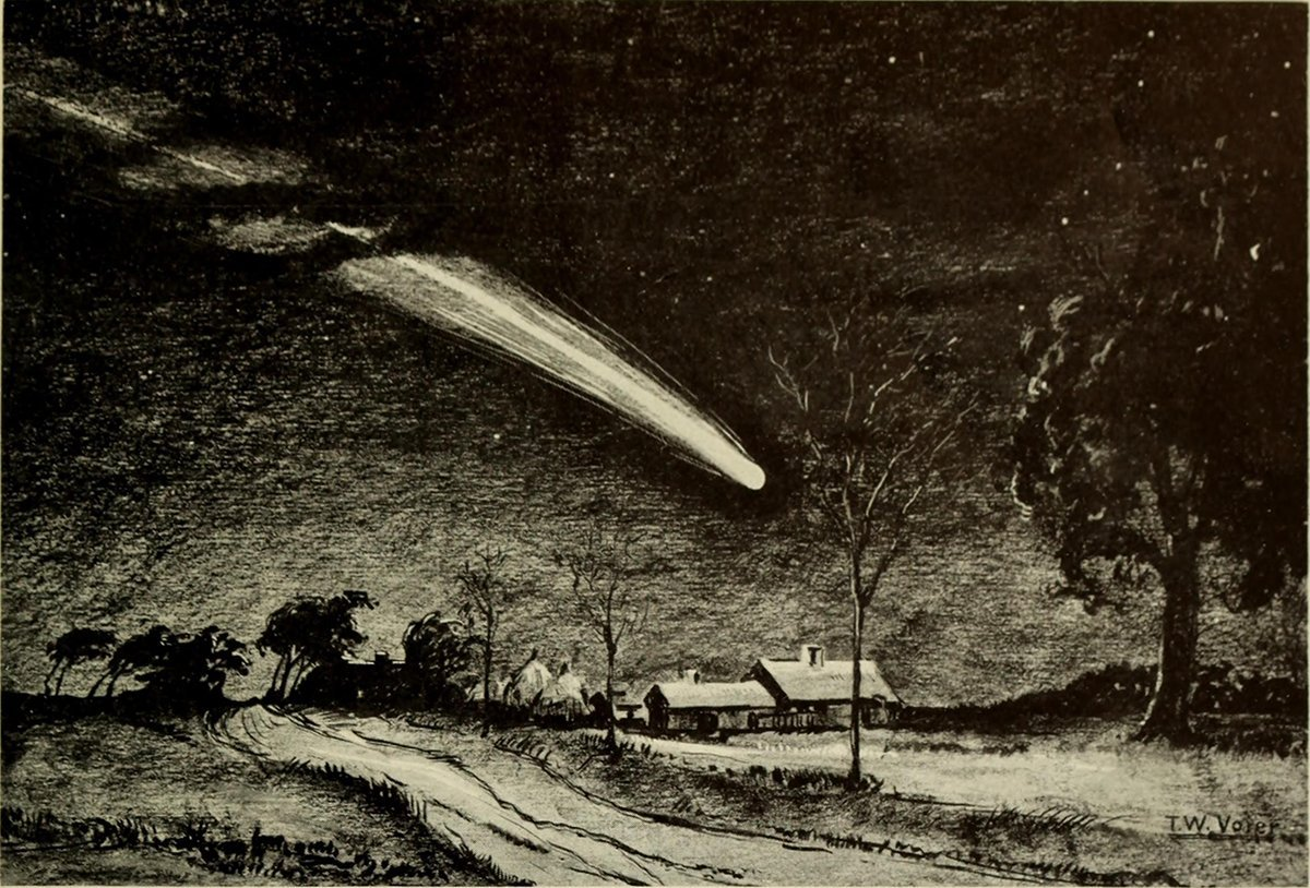 The Great Comet & Quake of 1811, A NEO Connection? - Skywatch Media