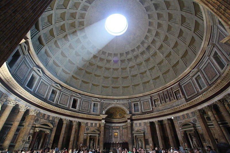 Internal Pantheon Light