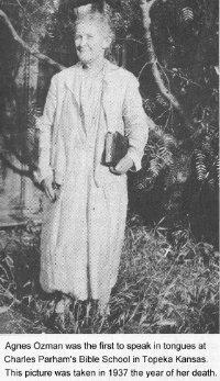 Photo of Agnes Ozman | Charismatic Worship