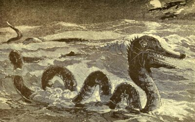 "Eyewitness Testimony to The SEA-SERPENT | ""Mystical Creatures,"" Charles Gould (1886)"