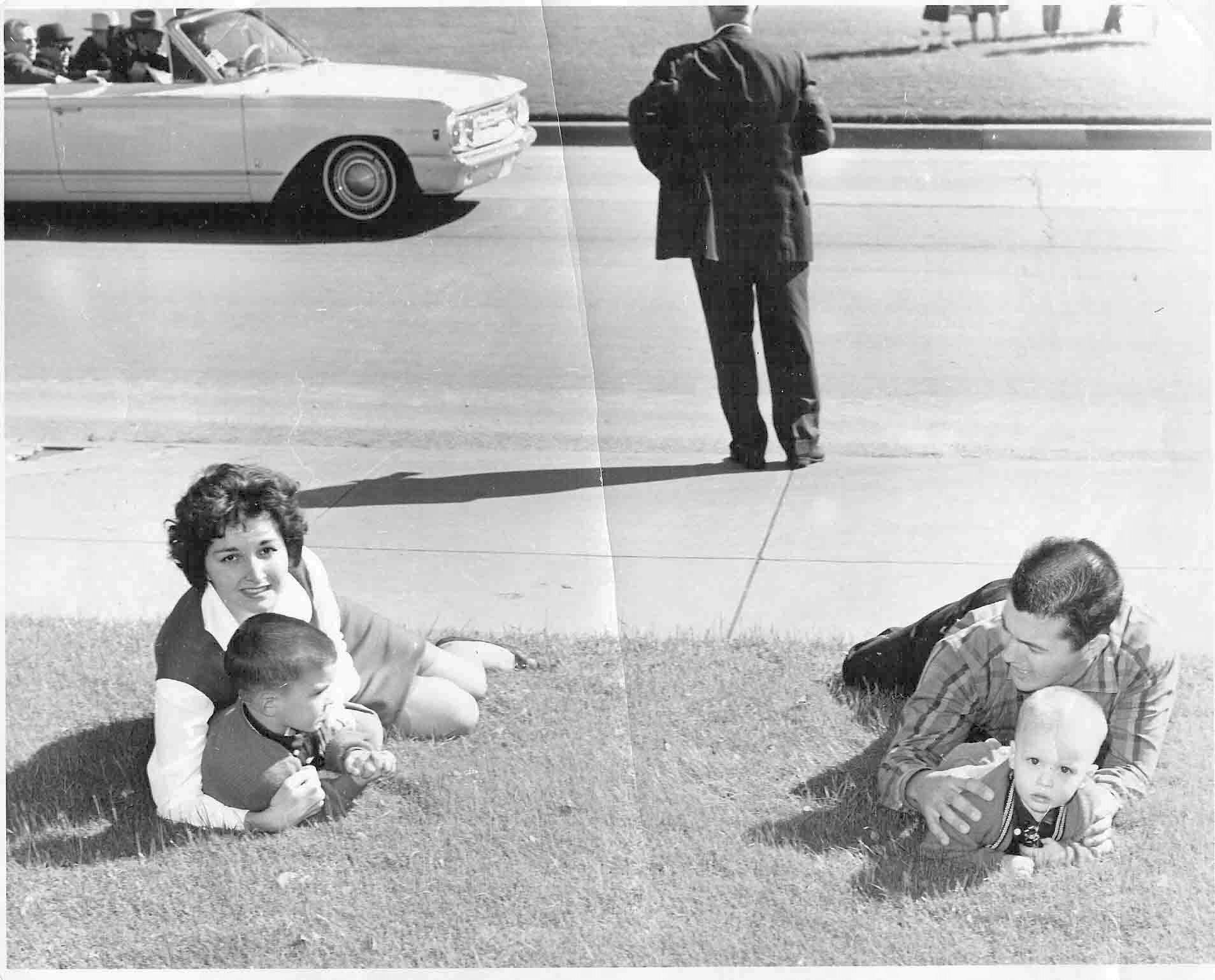 Cancellare's picture of the Newman family. | Jfk, Kennedy assassination, John f kennedy
