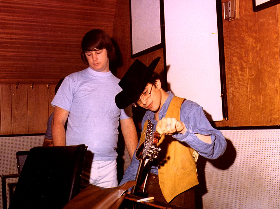 """Beach Boys Legacy on Twitter: """"Brian Wilson and Van Dyke Parks on a day like this in 1967, at a Smile recording session for Heroes And Villains… """""""