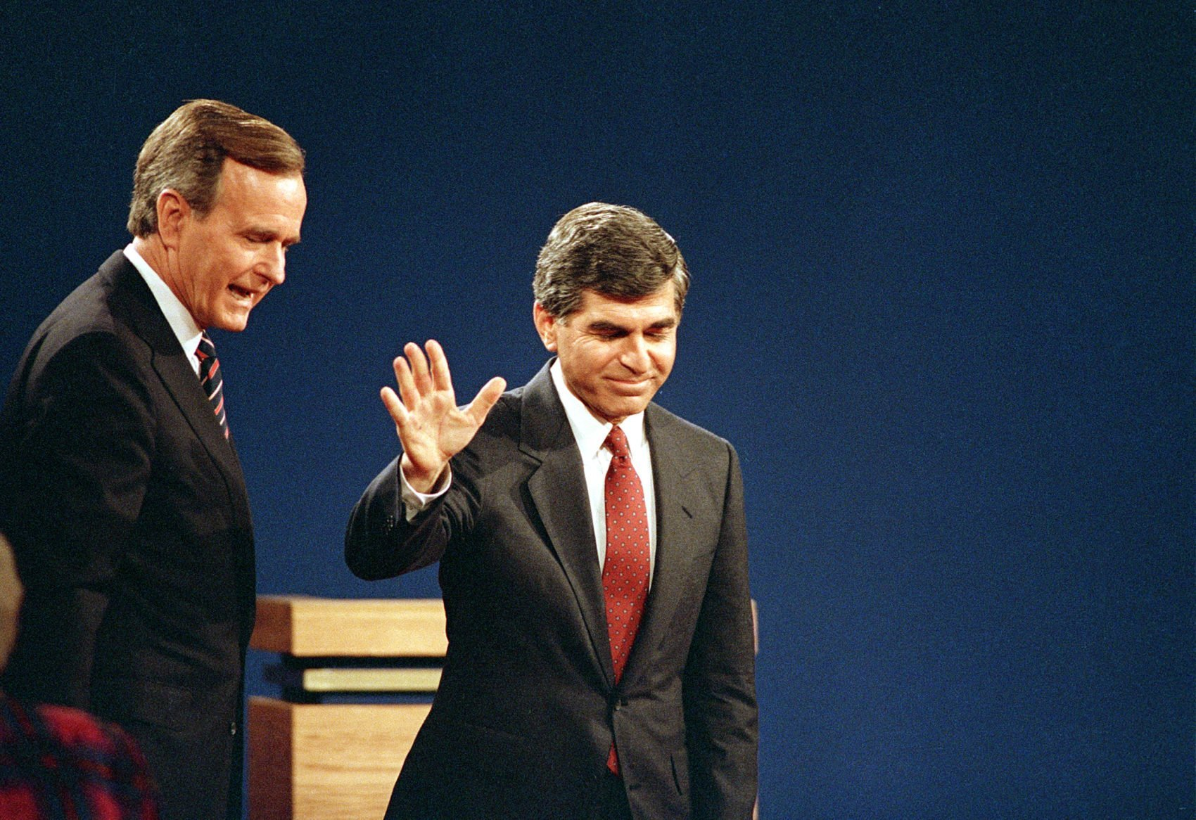 Dukakis Credits George H.W. Bush With Helping To End Cold War   WBUR News