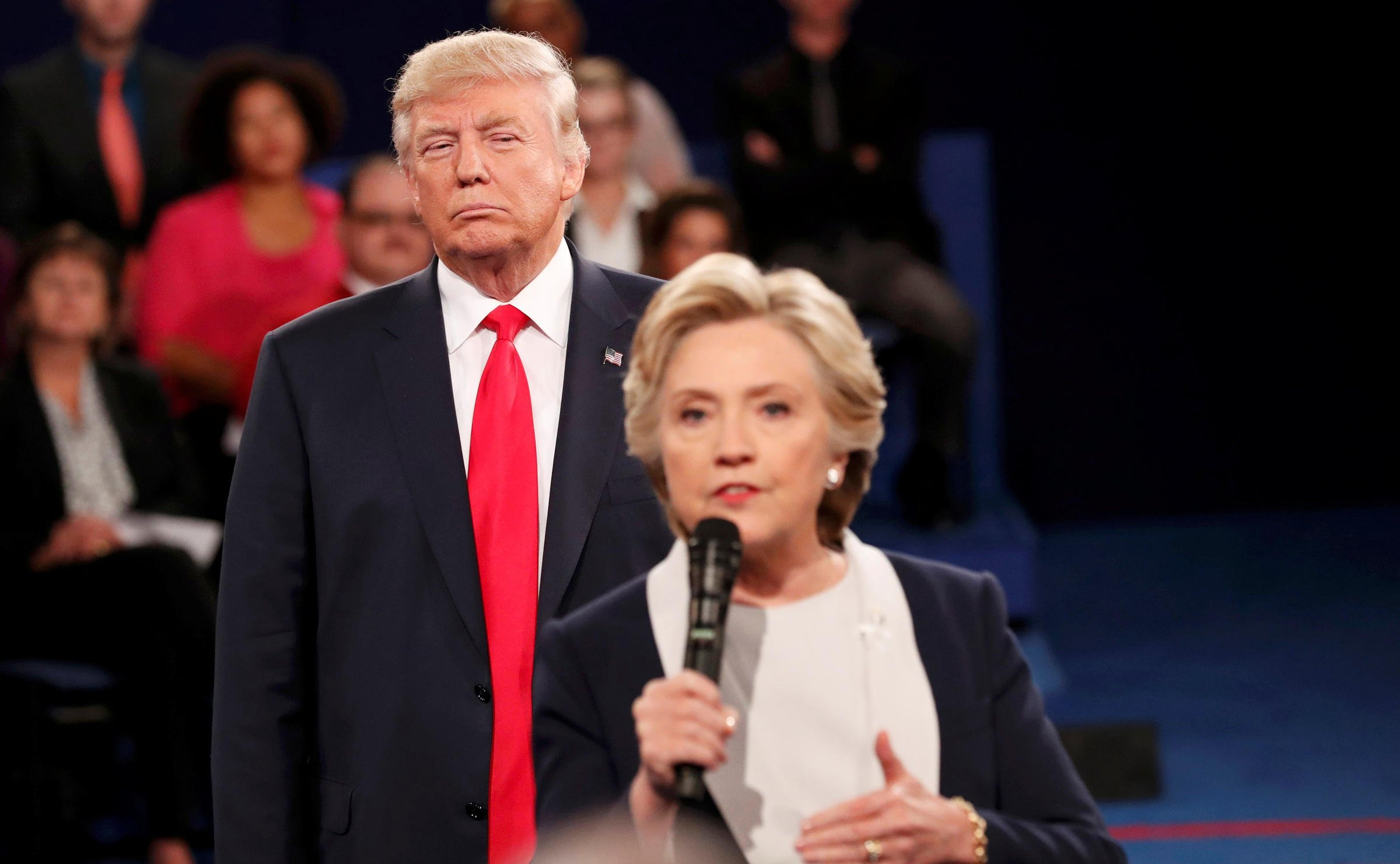 Donald Trump was the man Hillary Clinton needed to win the women's vote   WUNC