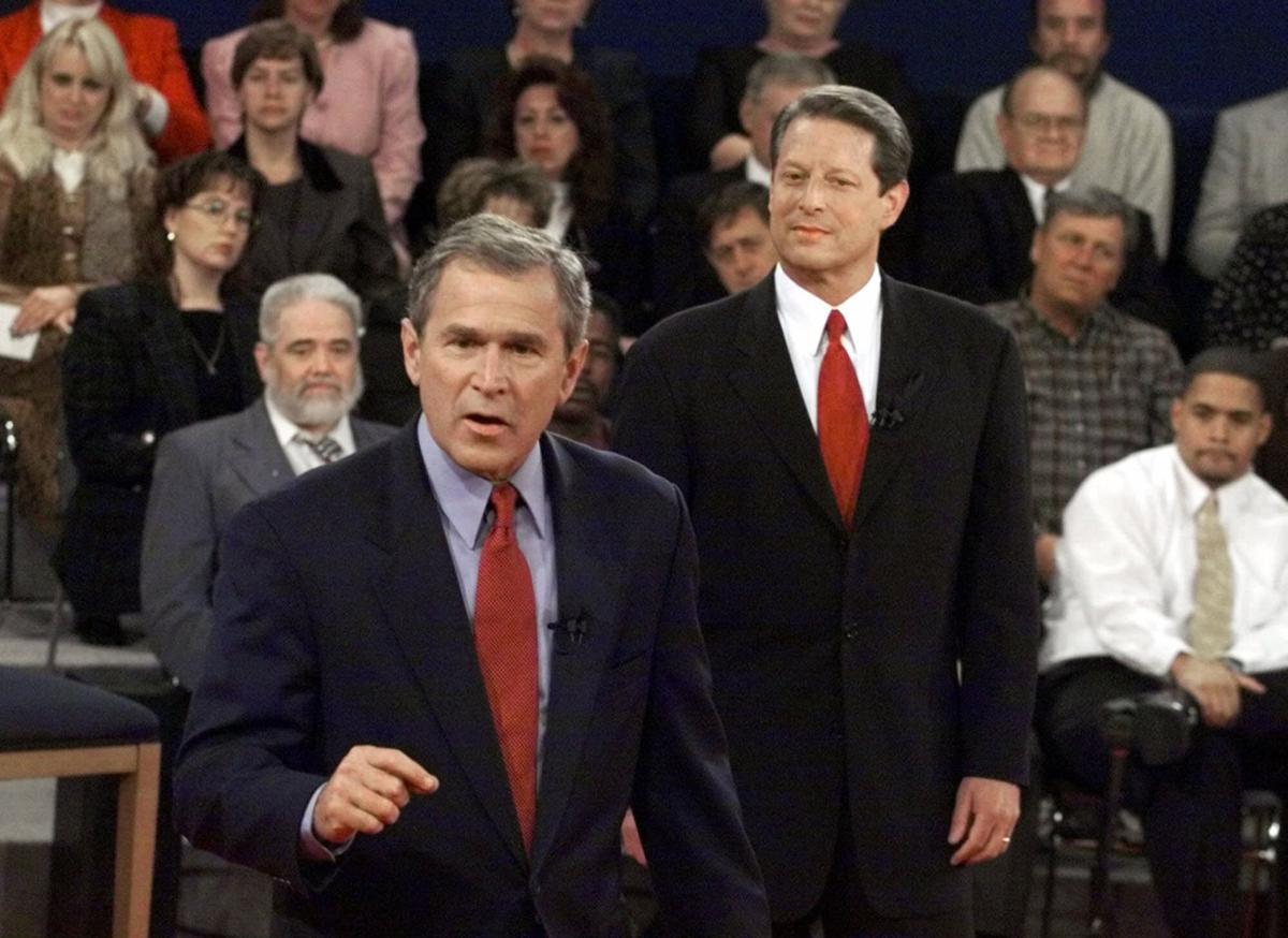 Gov. George W. Bush and Vice President Al Gore   Online   stltoday.com