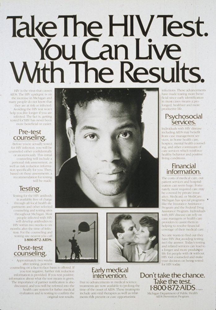You can live with the results, 1980s-1990s - Surviving and Thriving - NLM Exhibition Program