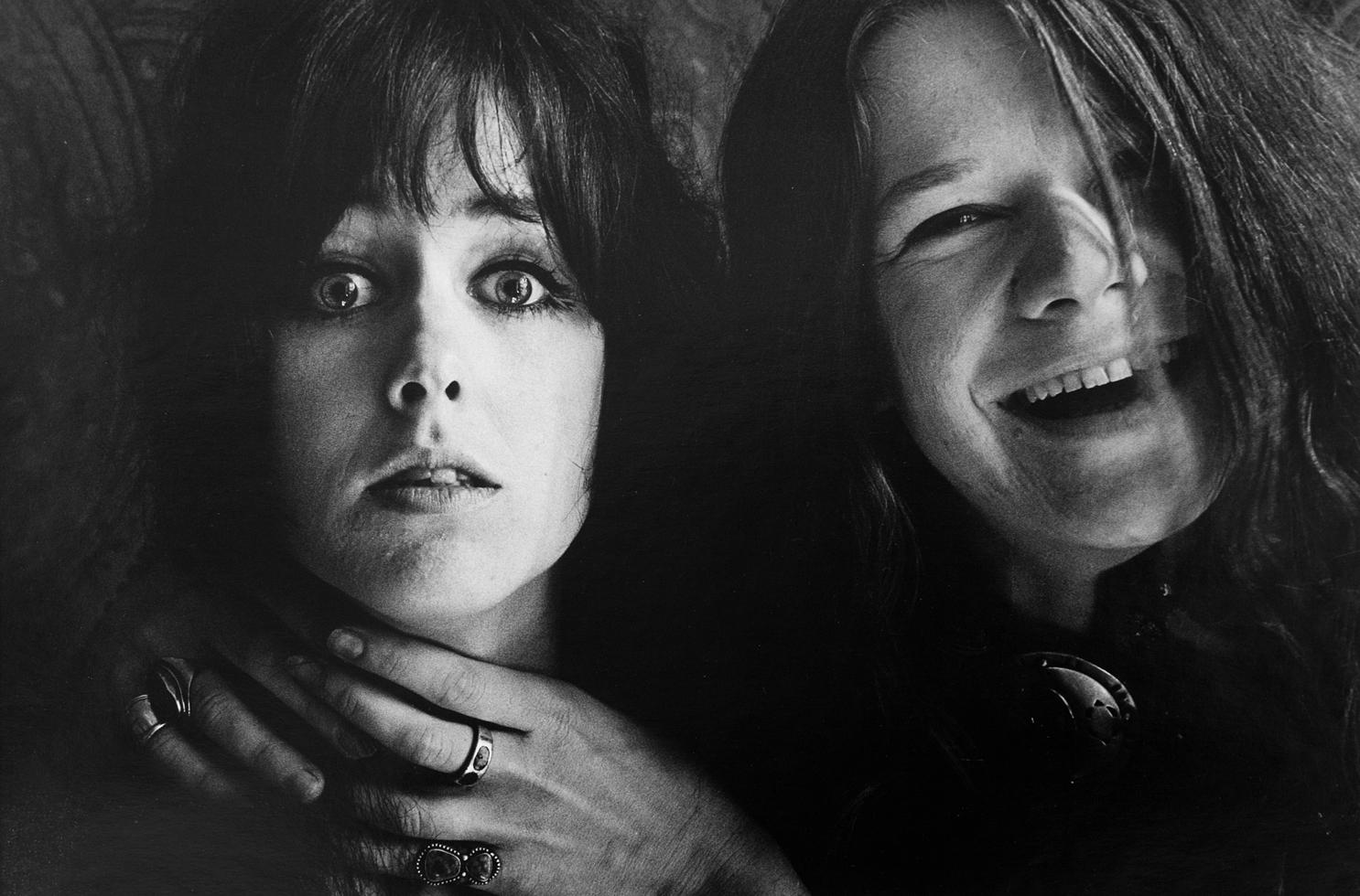 Grace Slick and Janis Joplin, San Francisco, CA 1967 | Orphaned Images