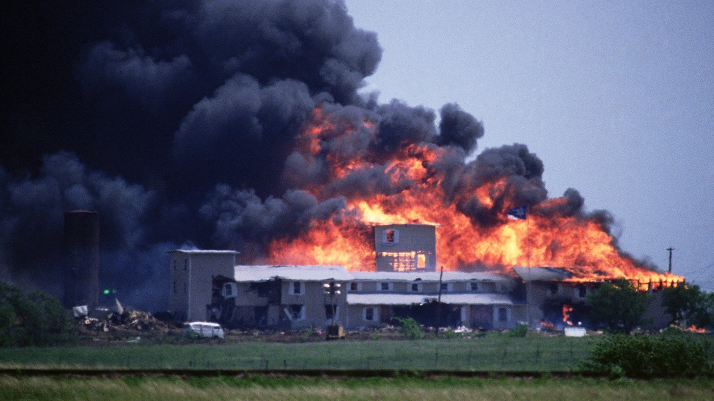 David Koresh, Waco Cult Showdown Ends in Disaster in 1993 - Rolling Stone