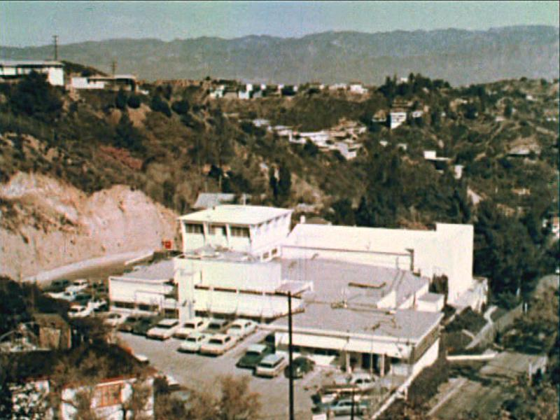 Lookout Mountain secret film studio in Laurel Canyon, Hollywood