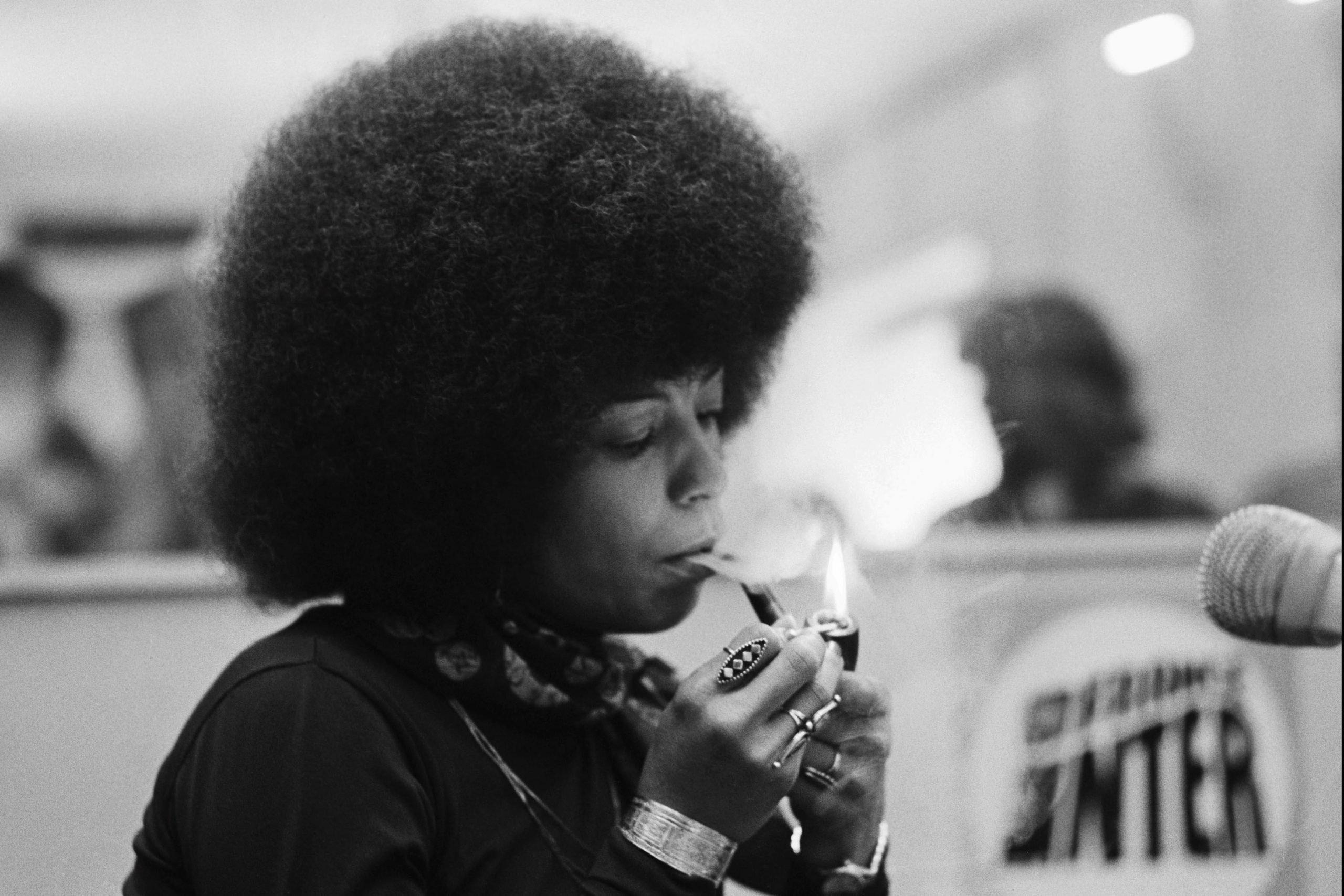 Angela Davis on Black Lives Matter : New Frame