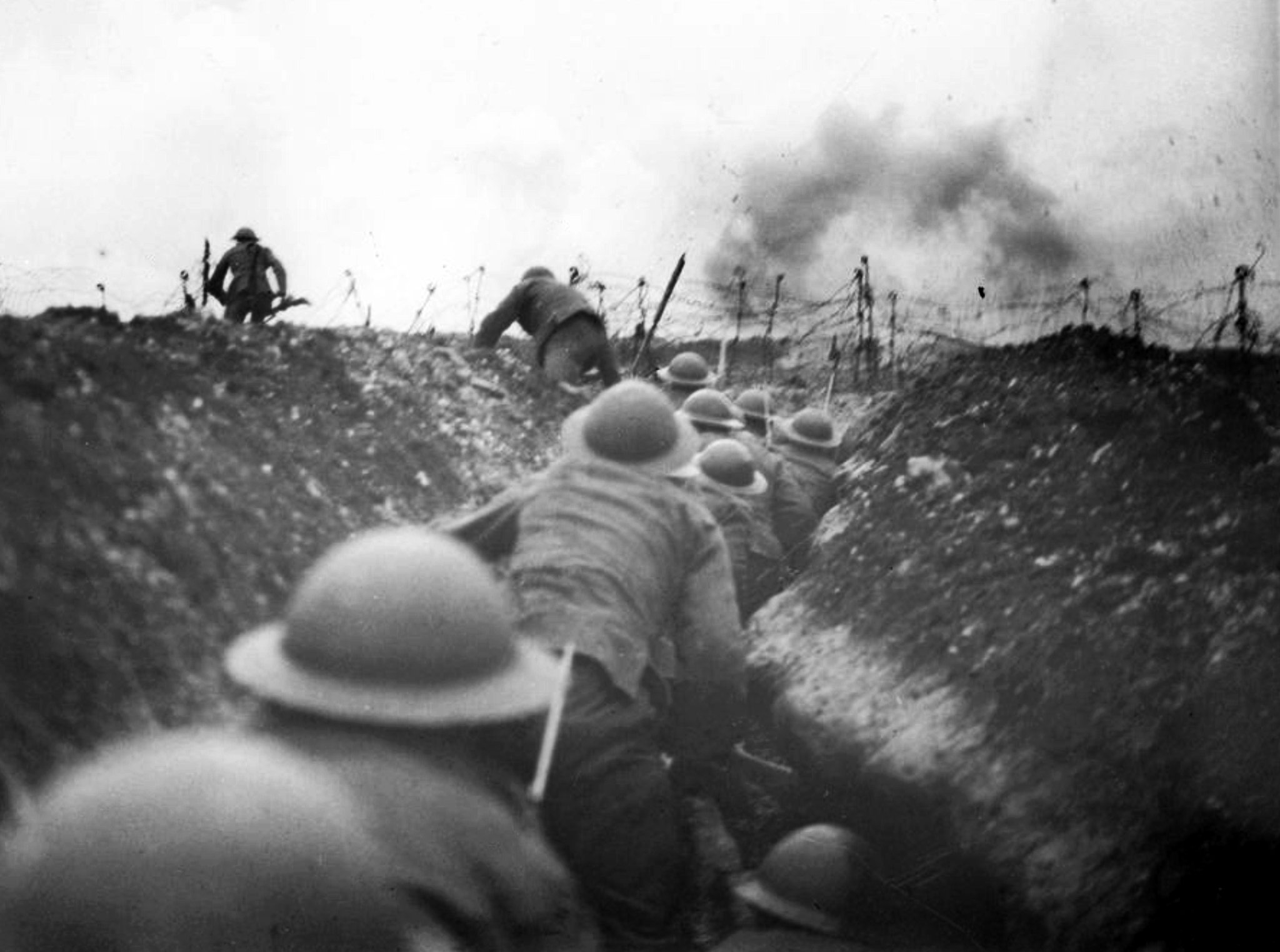 Photographers on the Front Lines of the Great War - The New York Times