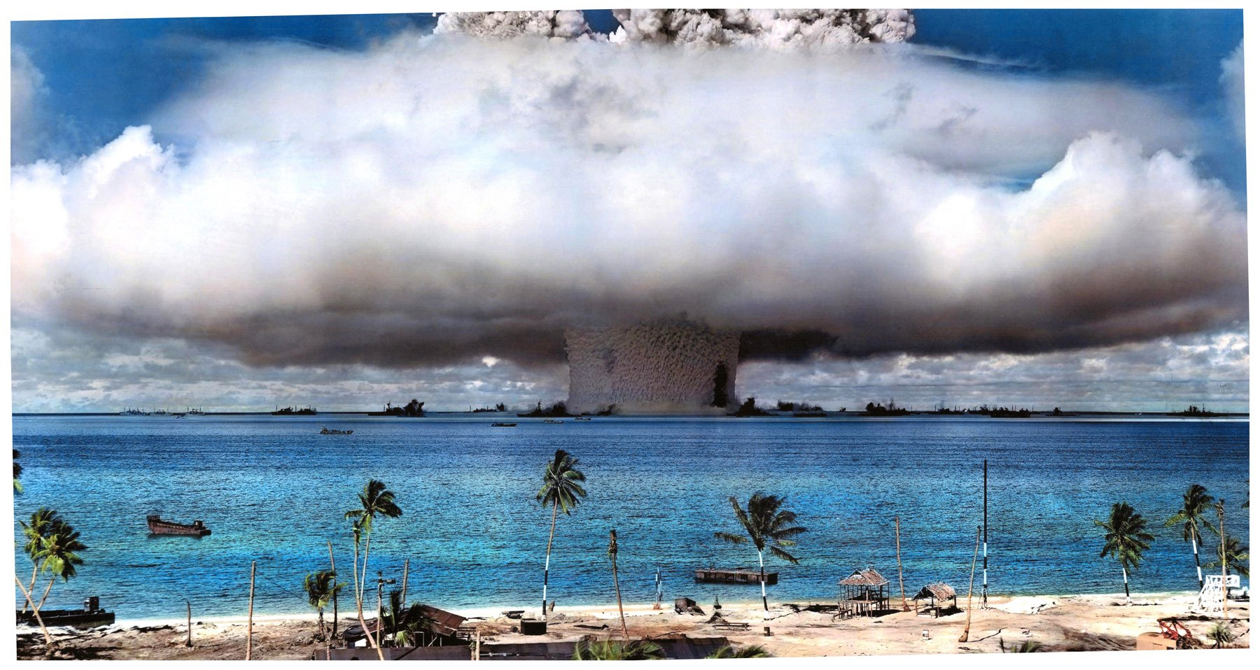 70th Anniversary of Operation Crossroads Atomic Tests in Bikini Atoll, July  1946   National Security Archive