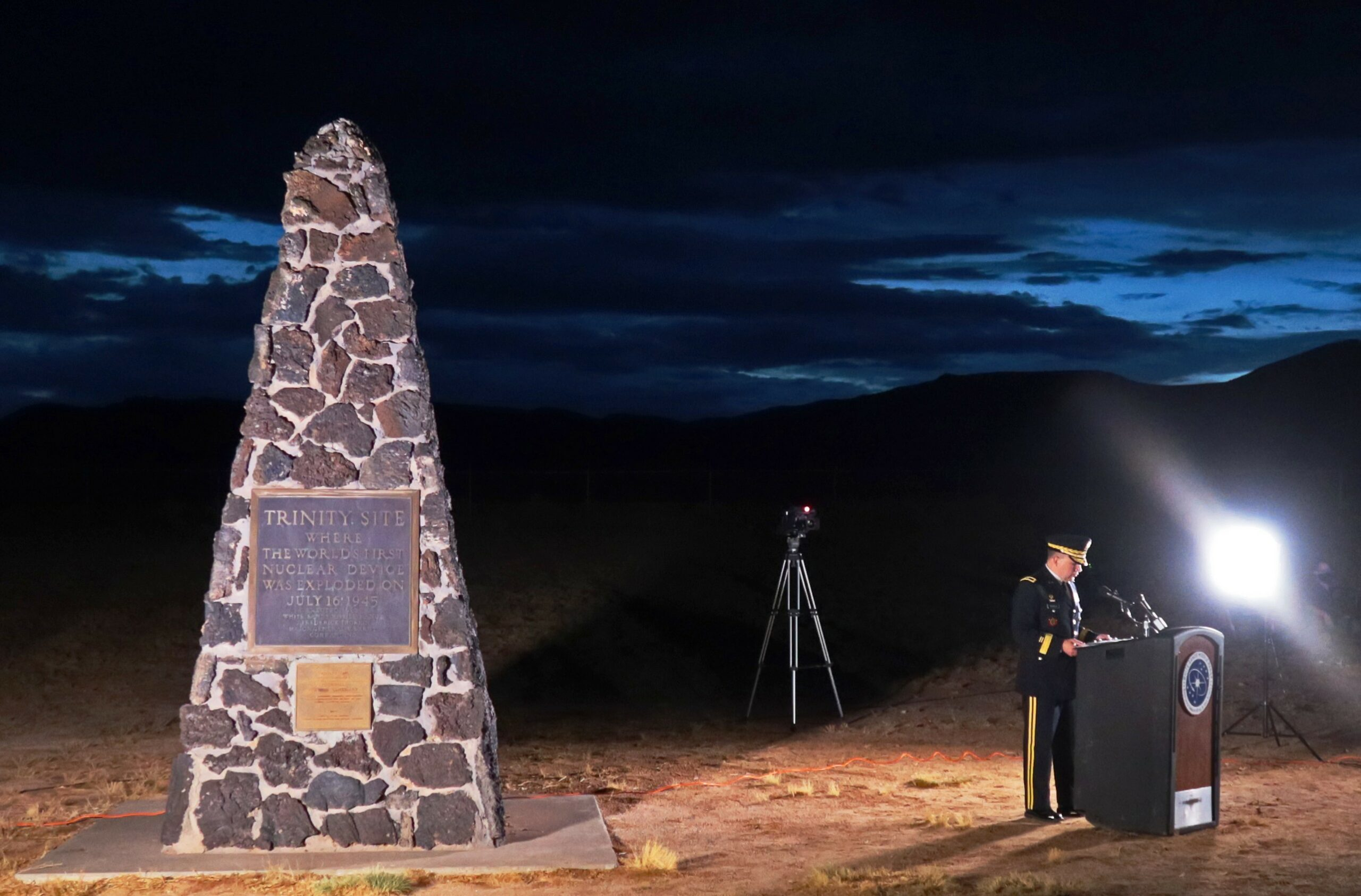 Trinity Site 75th Anniversary Commemoration Ceremony | Article | The United  States Army