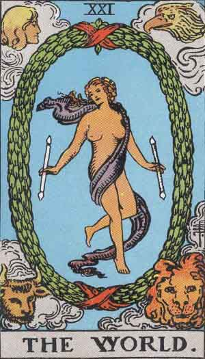 The World (Tarot card) - Wikipedia