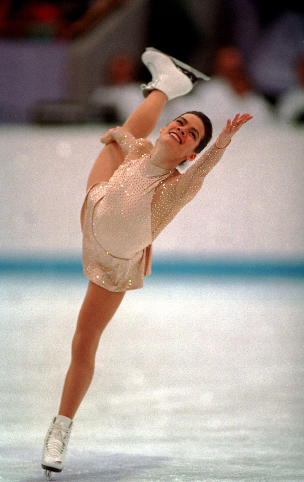 Image result for nancy kerrigan 1994 olympics