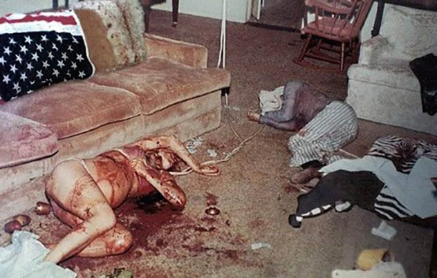 Image result for sharon tate corpse