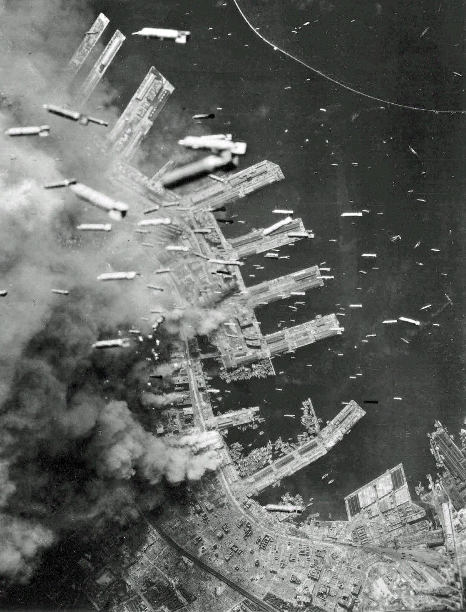 Bombing of Kobe in World War II - Wikipedia