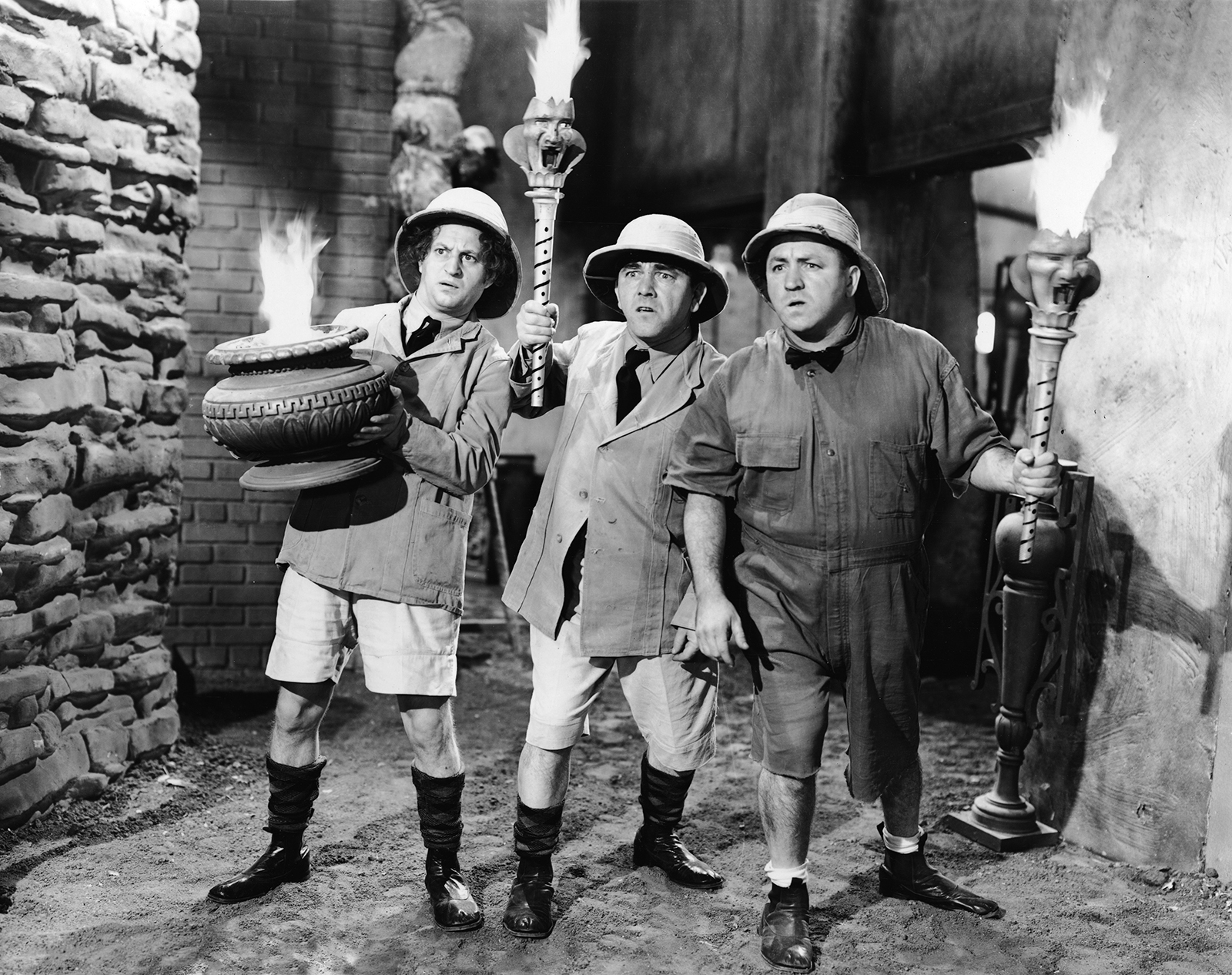 The Three Stooges | Names, Characters, History, & Films | Britannica