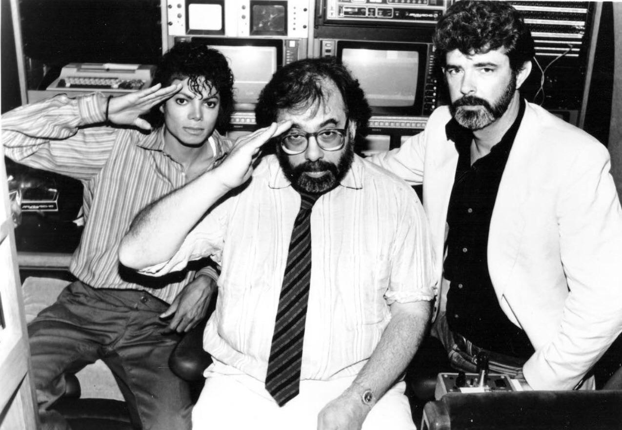 Michael Jackson, Francis Ford Coppola, and George Lucas, '86 : OldSchoolCool