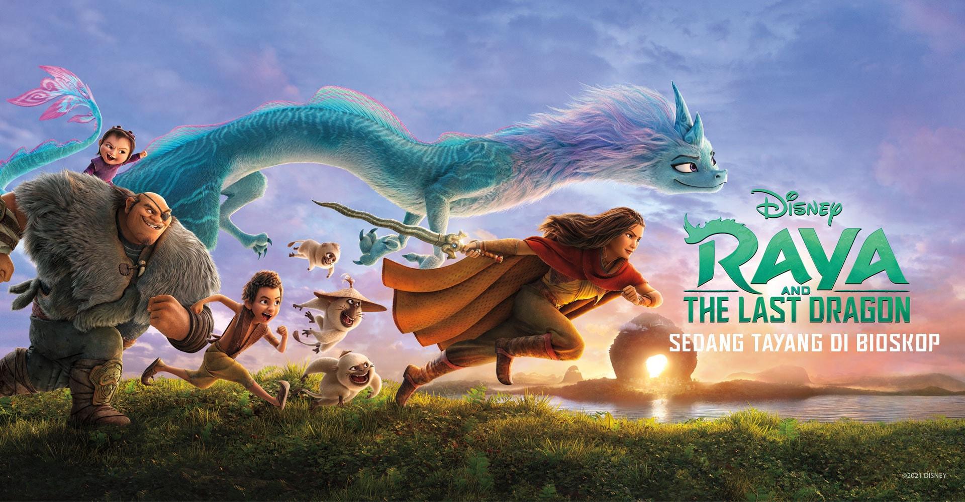 Raya And The Last Dragon Banner - Movie Wallpaper