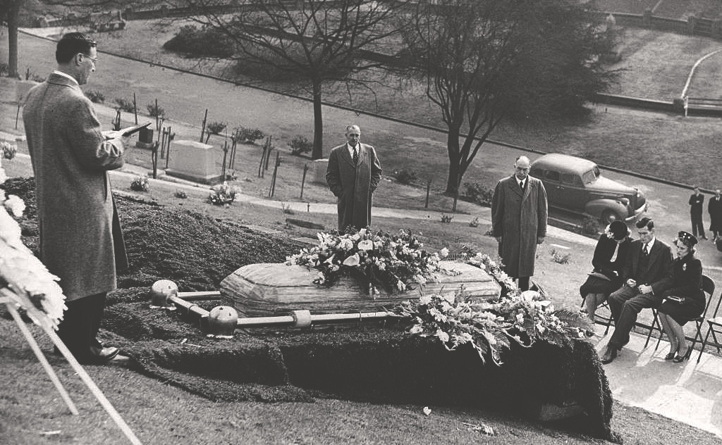 The Penny Dreadfuls — January 25, 1947: the funeral for Elizabeth Short,...
